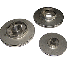 Projection Welded Stainless Steel Impellers