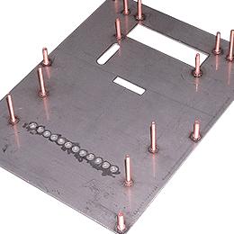 Capacitor Discharge Stud Welding on Panels