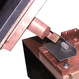 Lock hinge Projection Welding
