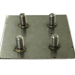 Drawn Arc Stud Welding on Steel Plate